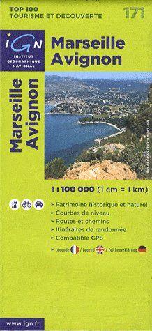 AED MARSEILLE/AVIGNON  1/100.000