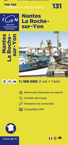 AED NANTES/LA-ROCHE-SUR-YON  1/100.000