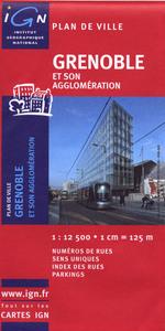 AED PLAN DE GRENOBLE  1/12.500
