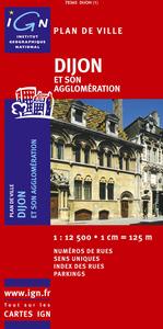 AED PLAN DE DIJON  1/12.500