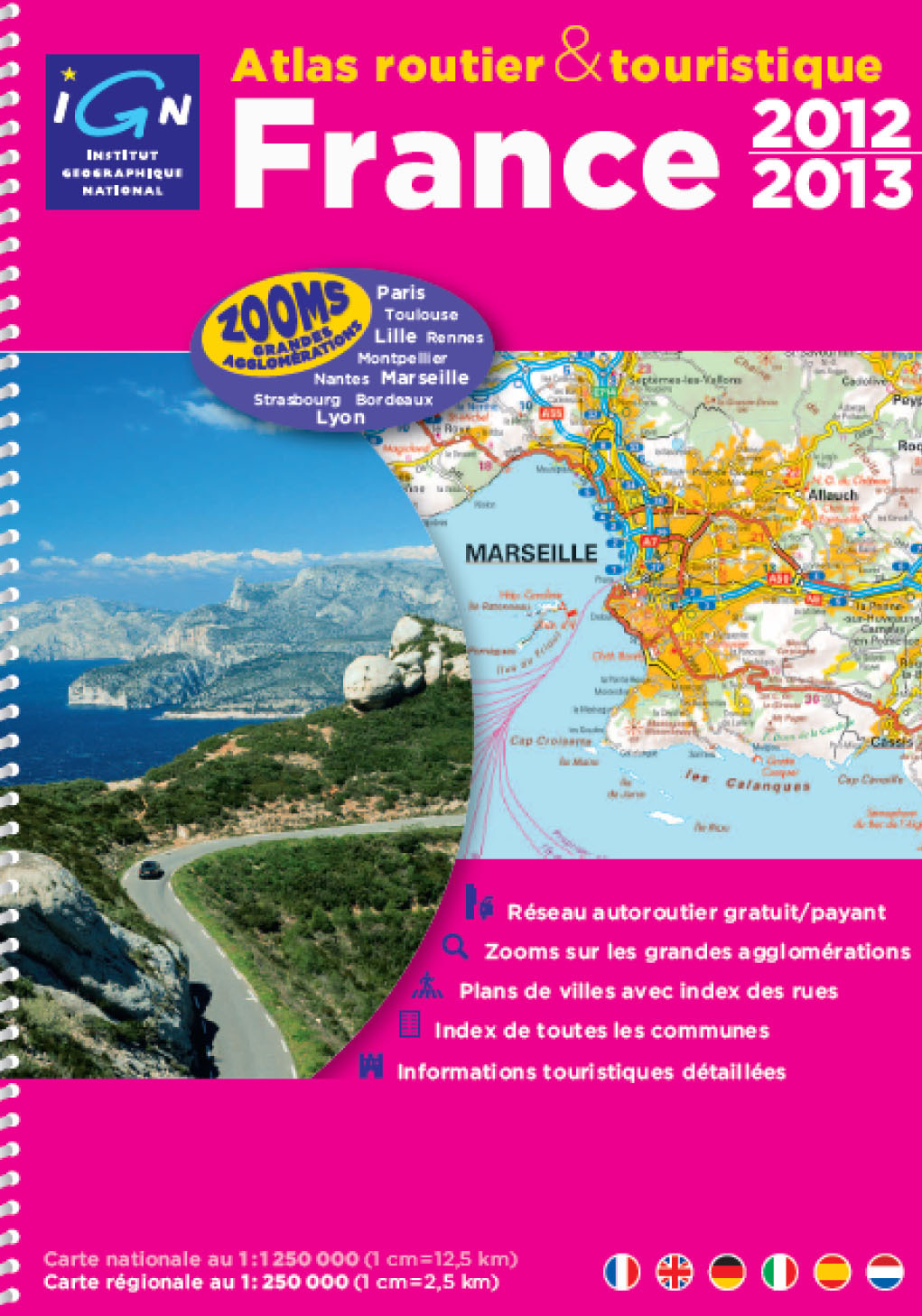 AED ATLAS ROUTIER FRANCE 2012/2013-SPIR.