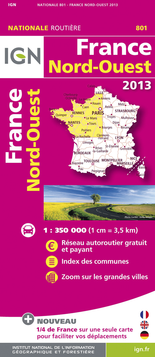 FRANCE NORD-OUEST 2013
