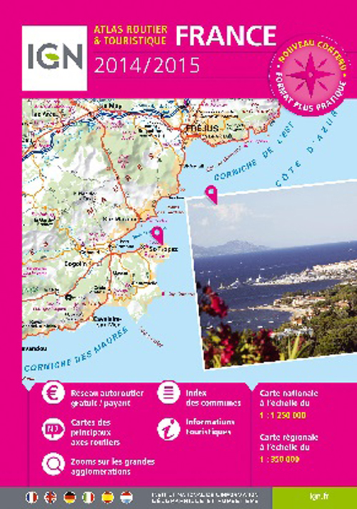 AED ATLAS ROUTIER FRANCE 2014/2015-SPIRALES