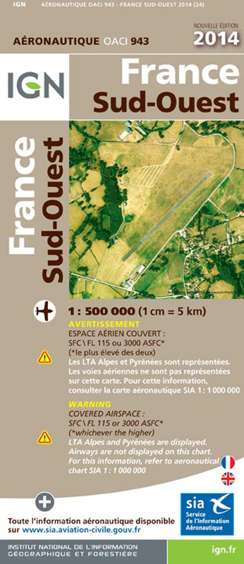 AED OACI943 FRANCE SUD-OUEST 2014
