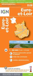 AED D28 EURE-ET-LOIR  1/150.000