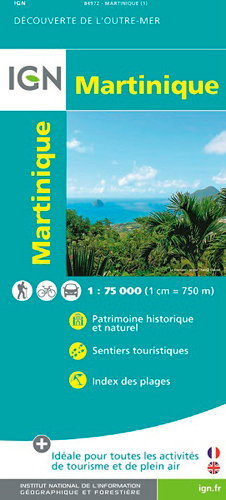 84972 MARTINIQUE  1/75.000
