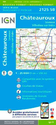 2125SB CHATEAUROUX/LEVROUX/VILLEDIEU-SUR-INDRE