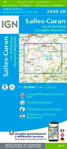 2440SB SALLES-CURAN/LAC DE PARELOUP/CASSAGNES-BEGONHES