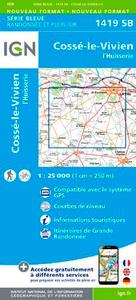1419SB COSSE-LE-VIVIEN/L'HUISSERIE