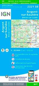 2321SB ARGENT-SUR-SAULDRE/BRINON-SUR-SAULDRE