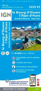 3335ET LE BOURG-D'OISANS/L'ALPE-D'HUEZ/GRANDES ROUSSES/SEPT LAUX