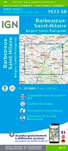 1633SB BARBEZIEUX-SAINT-HILAIRE.BAIGNES-SAINTE-RAD