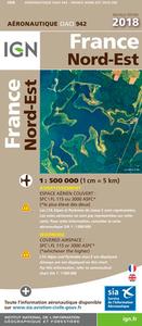 OACI942 FRANCE NORD-EST 2018 1/500.000