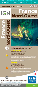 OACI945 FRANCE NORD-OUEST PELLICULEE 2018 1/500.00