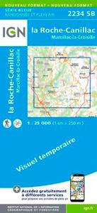 2234SB LA ROCHE-CANILLAC.MARCILLAC-LA-CROISILLE