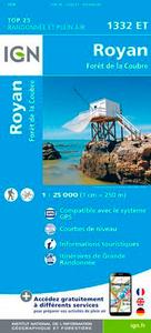 1332ET ROYAN - FORET DE LA COUBRE RECTO