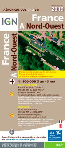 OACI945 FRANCE NORD-OUEST PELLICULEE 2019 1/500.00