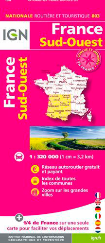 803 FRANCE SUD-OUEST RECTO/VERSO
