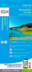 3425OT PONTARLIER/LEVIER/LAC DE ST POINT