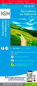 3618OTR LE HOHNECK/GERARDMER/LA BRESSE (RESISTANTE