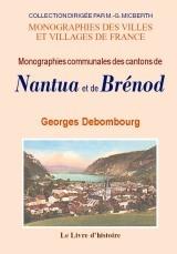 NANTUA ET BRENOD (MONOGRAPHIES DES CANTONS DE)