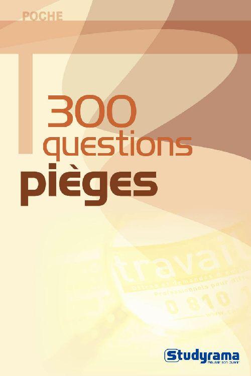 300 QUESTIONS PIEGES
