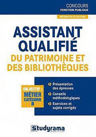 ASSISTANTS TERRITORIAUX DE CONSERVATION DU PATRIMOINE ET DES BIBLIOTHEQUES