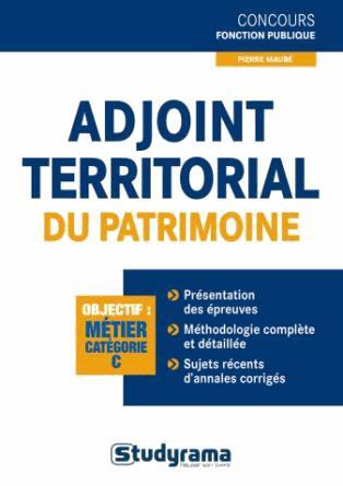 ADJOINT TERRITORIAL DU PATRIMOINE DE 1ER CLASSE