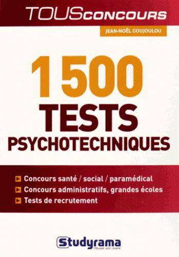 1500 TESTS PSYCHOTECHNIQUES