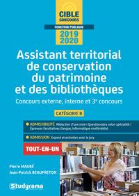 ASSISTANT TERRITORIAL DE CONSERVATION DU PATRIMOINE ET DES BIBLIOTHEQUES