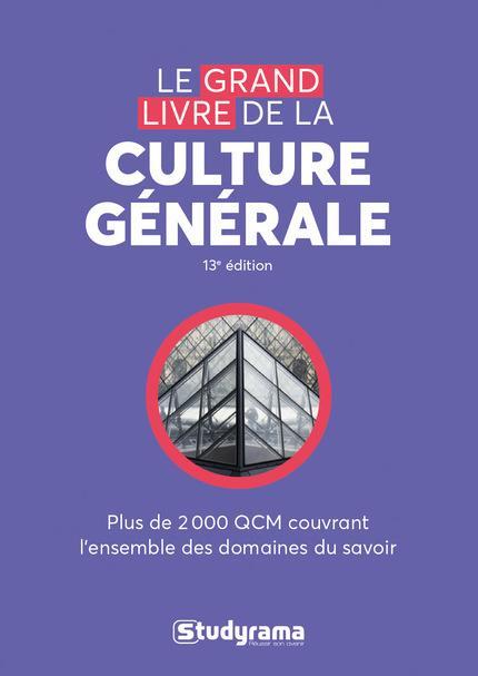GRAND LIVRE DE CULTURE GENERALE (LE)