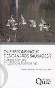 QUE FERONS-NOUS DES CANARDS SAUVAGES ? - CHASSE, NATURE ET GESTION ADAPTATIVE.