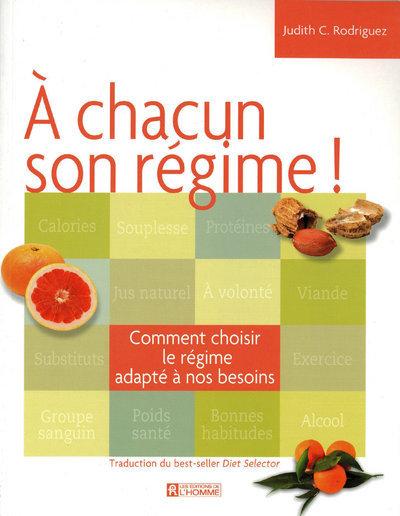 A CHACUN SON REGIME