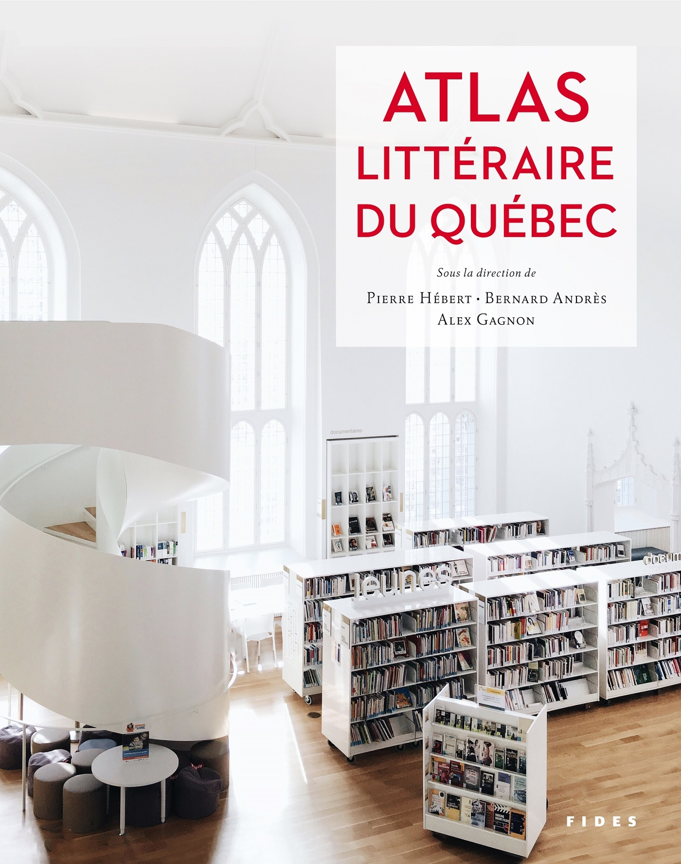 ATLAS LITTERAIRE DU QUEBEC