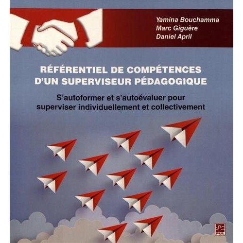 REFERENTIEL DE COMPETENCE D'UN SUPERVISEUR PEDAGOGIQUE