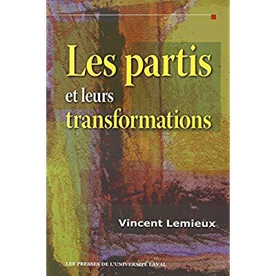 LES PARTIS ET LEURS TRANSFORMATIONS