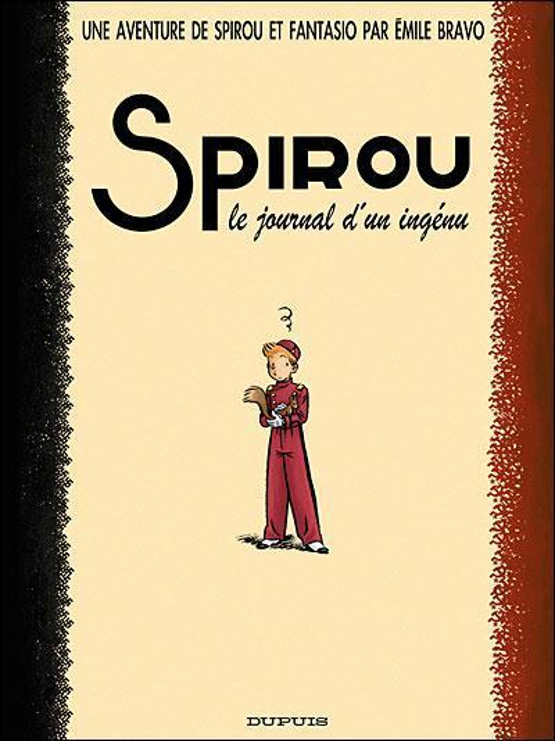 LE JOURNAL D'UN INGENU - SPIROU (ONE SHOT) - T4