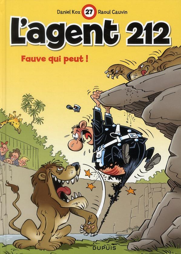 L'agent 212 - tome 27 - fauve qui peut !