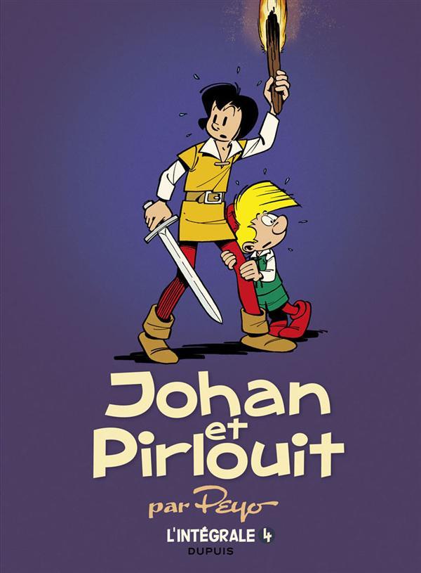 Johan et pirlouit - l'integrale - tome 4 - johan et pirlouit, l'integrale tome 4 (1959-1970) (reedi