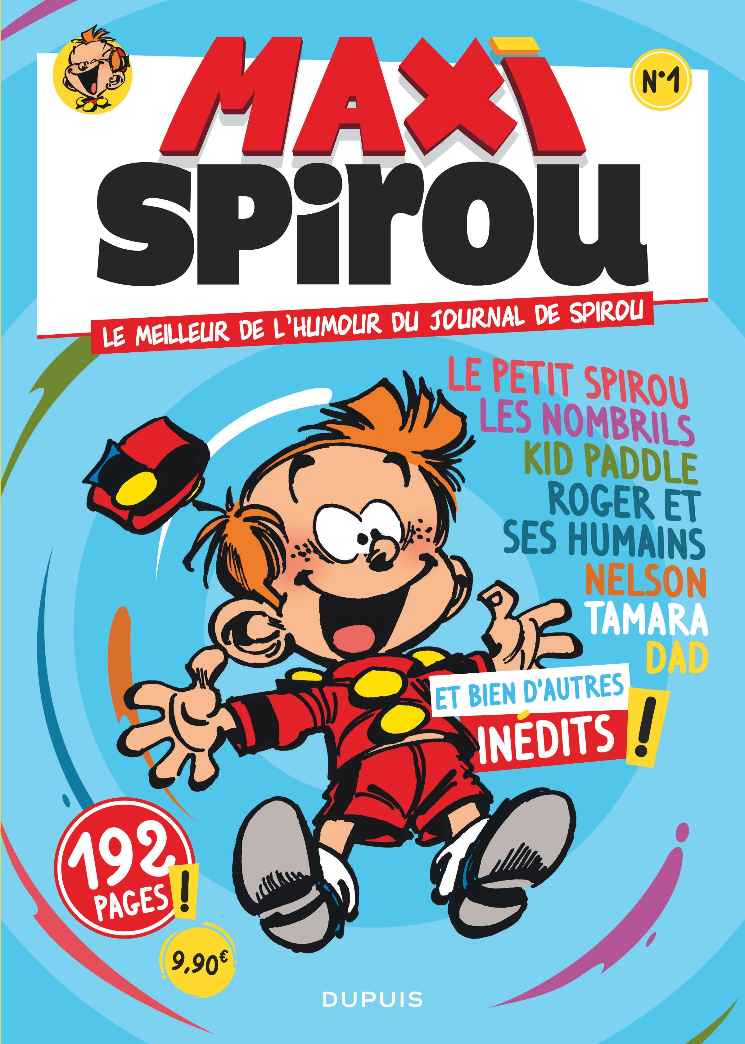 MAXI SPIROU - TOME 1 - SPECIAL HUMOUR