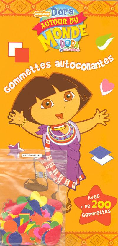 GOMMETTES AUTOCOLL DORA MONDE - VOL04