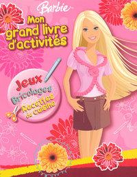 BARBIE MON GRAND LIVRE D'ACTIVITES