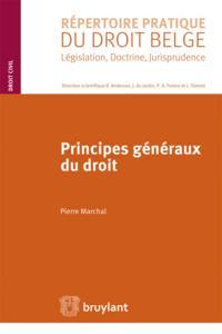 LES PRINCIPES GENERAUX DU DROIT - DROIT FRANCAIS, DROITS DES PAYS ARABES, DROIT MUSULMAN. (DENOMINAT