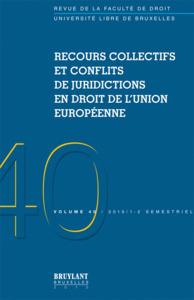 REVUE DE DROIT DE L'ULB 2010/1-2