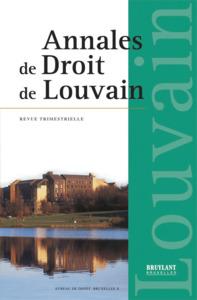 ANNALES DE DROIT DE LOUVAIN 2012/2