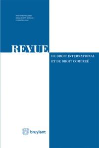 REV. DROIT INTERN. ET COMPARE 2017/3