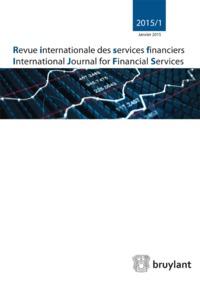 REVUE INTERNATIONALE DES SERVICES FINANCIERS 2017/3
