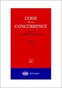 CODE DE LA CONCURRENCE