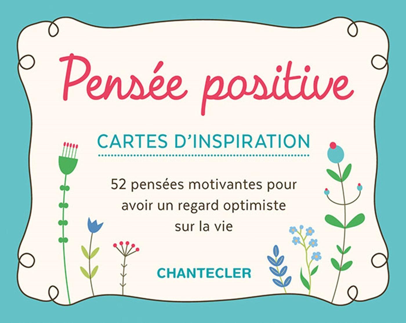 PENSEE POSITIVE - CARTES D'INSPIRATION