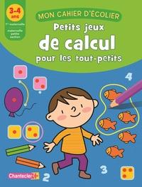 MON CAHIER D'ECOLIER (3-4 ANS) CALCUL